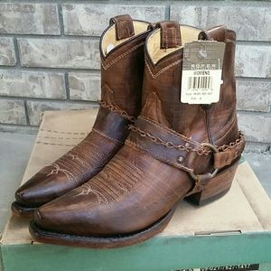 New Roper Selah western women's boots chain